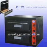 user can set their desirable temperature and cooking cycle time pizza oven for restaurant-