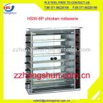 8 layers Gas chicken rotisserie HSW-8P-