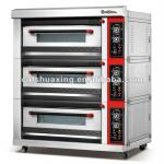 deluxe layer type gas bread deck oven ( 3 layers 12 trays)QD-12Q-