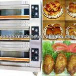 3 Layer 6 Pan Gas Oven|Electric Oven|Bread Baking Machine-
