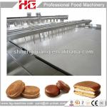 HG CE Approved Full Automatic Chocolate Pie Cake Making Machine-