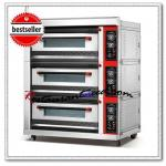 K045 Luxury 3-Layer Electric Pizza Machine Deck Oven-