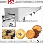 High capacity hard and soft small biscuit machine-