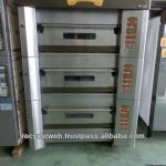 used baking oven for sale 3decks 4trays made in japan-