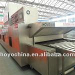 Hot air circulation tunnel oven-