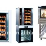 Hot air Convection Oven/Manual steam button convection oven-