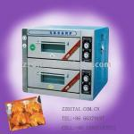 high quality 2 layer 2 pan electric deck oven-
