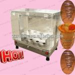 OEM sale pizza cone machine line and 8pcs with CE approved pizza cone cabinet display