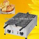 hot sale high efficiency fish shape waffle baker with CE