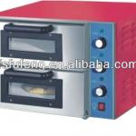 Double Door Double Layer Electric Pizza Oven for Sale FEP-2A-