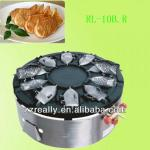 large output commercial use new design gas and electric waffle baker maker with CE-