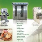 fast rotary pizza/toast/cake baking oven-