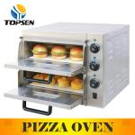 Good Restaurant Pizza electric stone oven 12''pizzax2 machine-