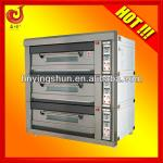 3 deck bakery oven/9 trays deck gas oven-