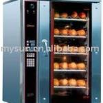 Gas convection baking oven
