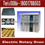 electric rotary oven for bakery/16& 32&64 trays/ complete bakery line supplied(ISO9001,CE)-