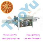 Crawler-type conveyor pizza oven for 9 inch pizza-