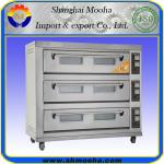 Commercial Deck Oven/Electric Bread Baking Oven / Bread Baking Ovens for Sale( 3 decks 9 trays)-