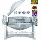 Auto tilting industrial gas cooker with mixer-