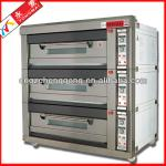 electric deck oven three layer 15 trays
