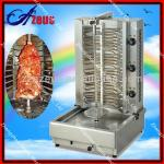 economical AZEUS chicken kebab grill machine for sale-