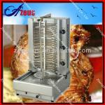 commercial AZEUS automatic gas rotary grill machine for sale-