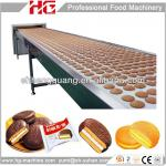 Automatic choco pie making machine-