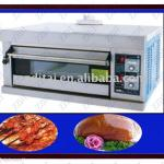 newest design 1 layer 2 pan gas deck oven with easy use-