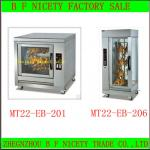 High quality Stainless steel automatic electric chicken rotisserie-