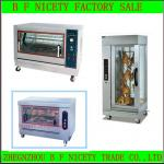 Stainless steel automatic electric chicken rotisserie-