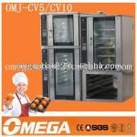 Hot!! electric convection oven bakery machine OMJ-CV5 ( manufacturer CE&ISO9001)-