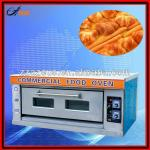 one floor two trays Electric deck oven-