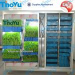 Fresh Fodder grass growing sprouting machine to feed poultry-