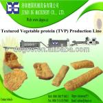 Textured vegetarian soy nuggets protein extruding machine-