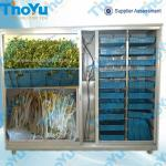 Soya bean sprouts growing machine-