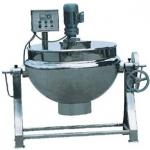 sanitary stainless steel steam heating jacketed kettle(CE certificate)-
