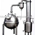 Thermal refluence distillation concentrator-