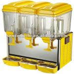 SCC-J3 3- tank Juice Dispenser with Paddle Stirring System-
