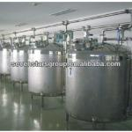 Mixing tank for milk/preparation tank for milk-