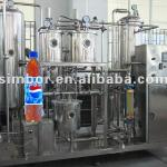 Carbonated drinking mixer-