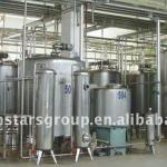 High speed syrup mixing tank-
