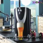 5L Beer Keg Electric Beer Dispenser, Tower Beer Chiller, Drink Vending Machine, Beer Fridge-
