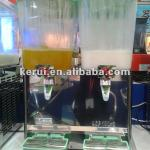 2 bowls fruit juice dispenser-