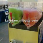 CE 15L double-side refrigeration slush beverage dispenser-