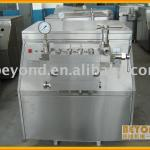Homogenizing mixer-