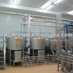 hot sale emulsification tank for making syrup by sugar melting-