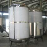 glycol jacket conical beer fermenter with conical bottom cooling jacket