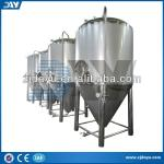 used stainless steel home brew beer glycol jacket conical fermenter