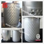 dimpled jacketed tank from direct factory