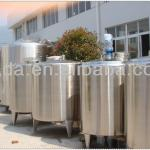 Beverage storage tank made by food grade stainless steel